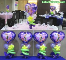 Tinkerbell Centerpieces Hotel Fortuna Cebu Balloons