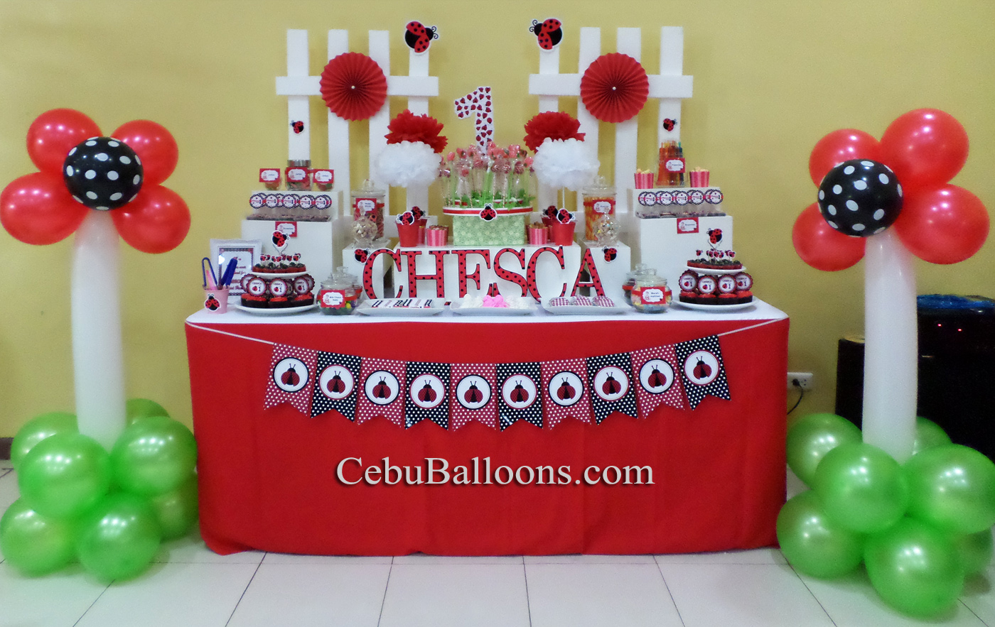 Dessert Buffet Decors Cake Pastries Amp Candies Cebu Balloons And Party Supplies