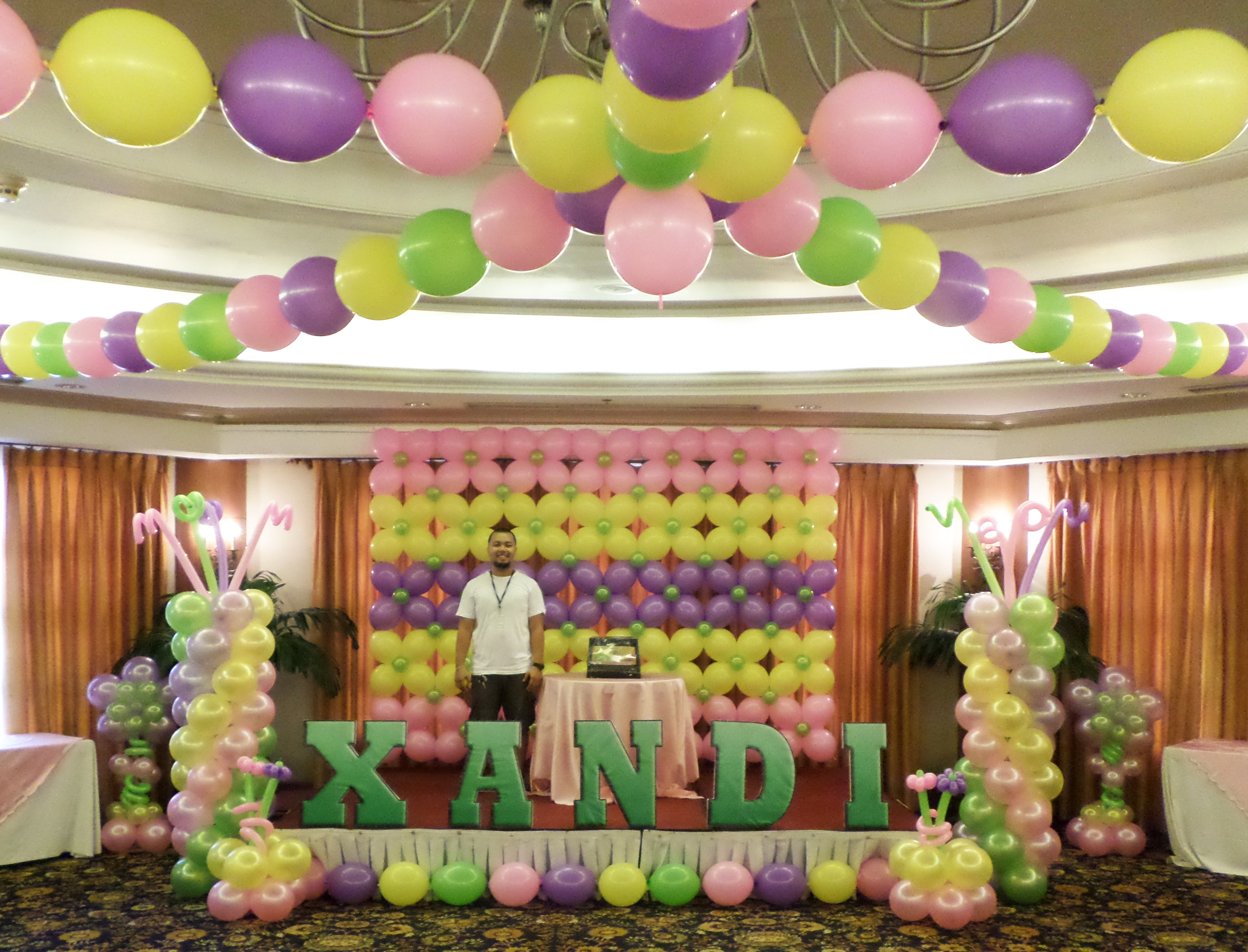 Balloon Wall Prices  Conversion  Cebu Balloons and Party