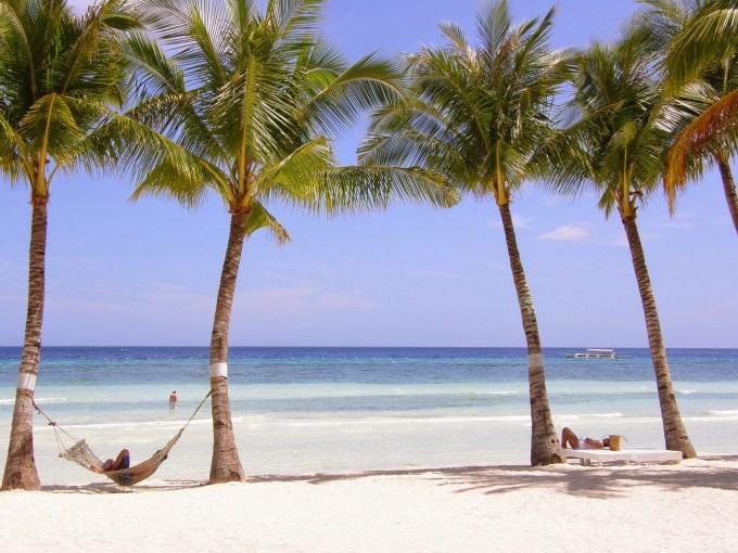 パングラオ島ビーチ