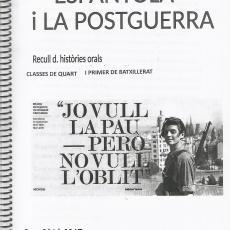 Històries orals, recull de testimonis de la Guerra Civil espanyola i la postguerra de Pallejà