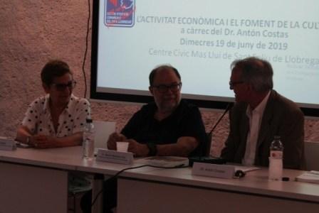 45è aniversari – L'ACTIVITAT ECONÒMICA I EL FOMENT DE LA CULTURA