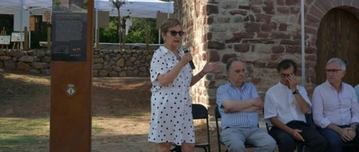 Inauguració de les obres de rehabilitació de l'Ermita de Sant Joan