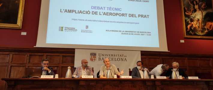 El CECBLL assisteix al debat tècnic sobre l'ampliació de l'aeroport