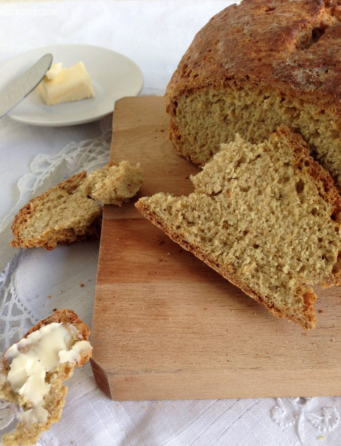 Irish soda bread : le pain express au petit goût de noisette