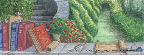 """Illustration pour """"Le retour d'Achal Kalaum"""", de Gaëlle Vadi (inédit)."""