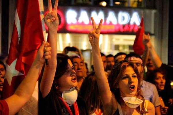 ¿A dónde fue la Primavera Turca?
