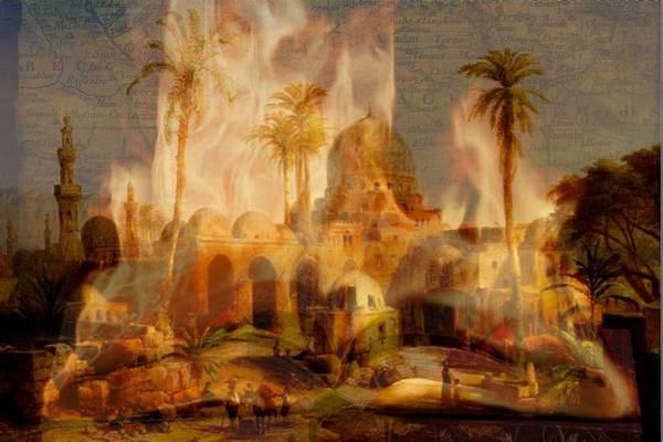 Las ruinas de la ciudad de las Mil y Una Noches