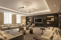 Living Room Interior Design Portfolio
