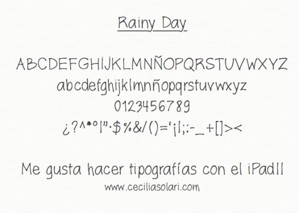 Cecilia Solari Rainy Day