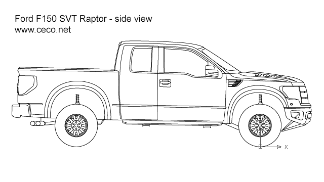 Ford drawings outline