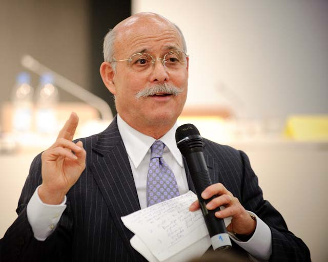 Jeremy Rifkin at the Conference Countdown to Copenhagen.