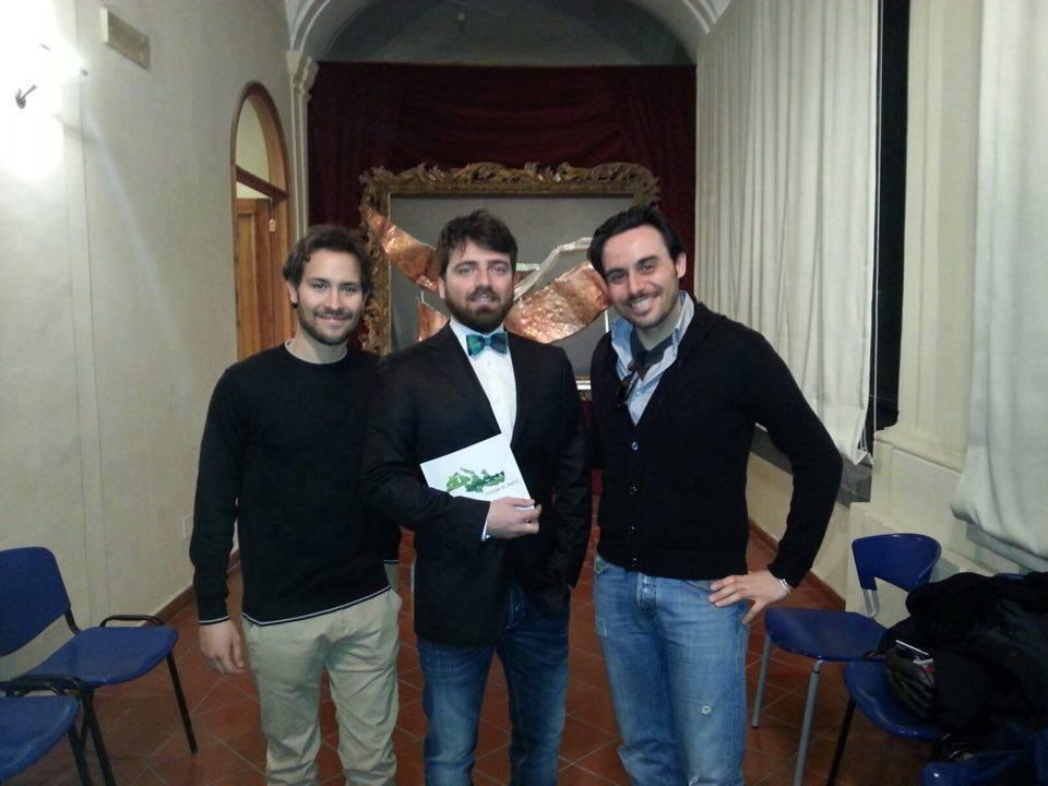 Gianluigi Elia, Cosimo Abbate, Andrea Gatto