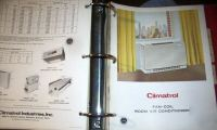 Huge catalog of climatrol heating equipment 1960's-70's