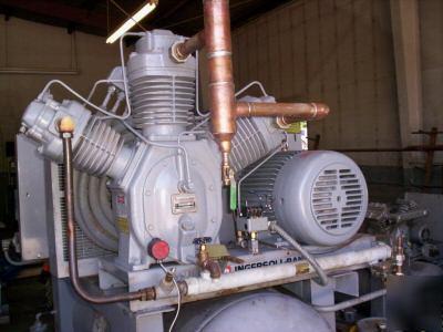 Ingersoll rand 2 stage 25 hp piston air compressor