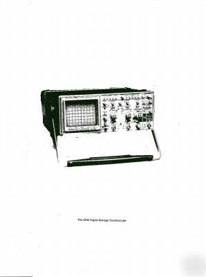 Tektronix cd 21 oscilloscope manuals