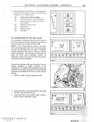 NEW HOLLAND TM 165 MANUAL - Auto Electrical Wiring Diagram on