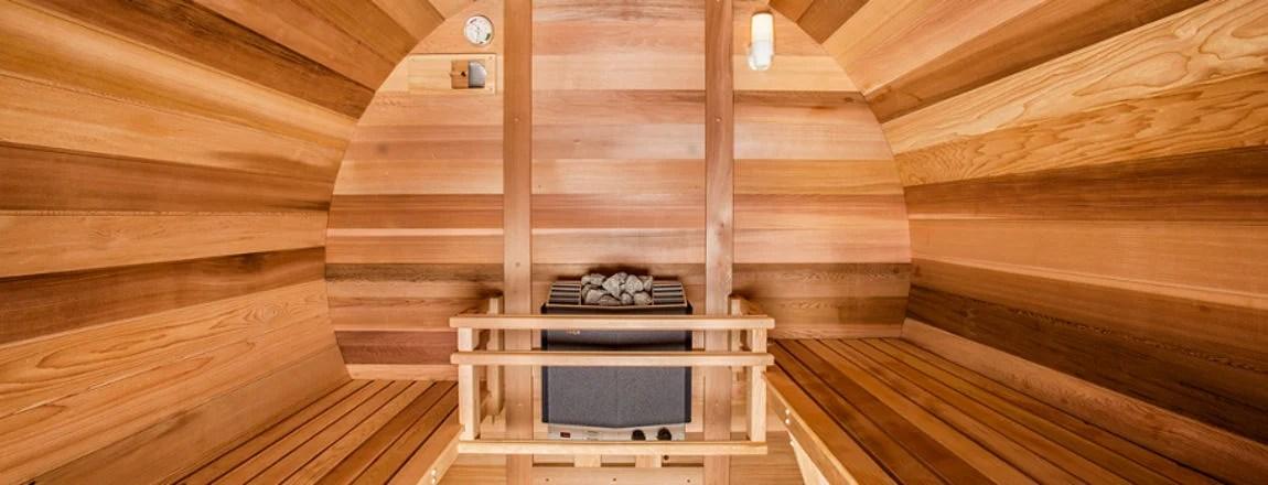 Northern Lights Barrel Sauna