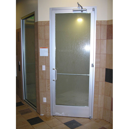 Club 190 Commercial Steamroom Door