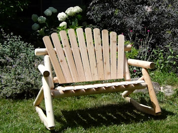 cedar rocking chairs personalized childrens rustic log chair double rocker