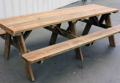 8 Foot Picnic Table Material List