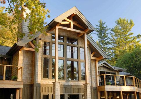 Windwood Custom Estate Homes  Post Beam Cedar Homes  Post Beam House Plans