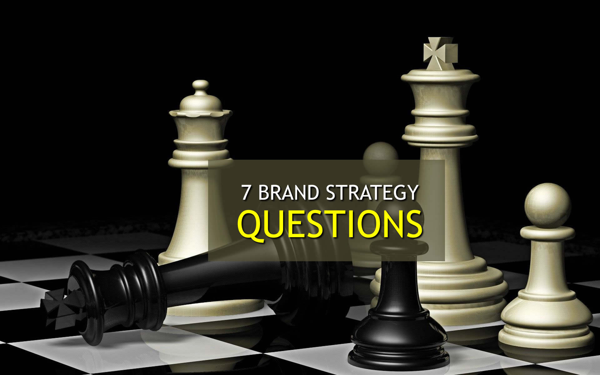 7 Brand Strategy Questions