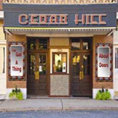 Cedar Hill I've Got a Thing About Doors