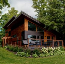 Rustic Refined Town Country Cedar Homes