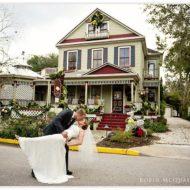 Cedar House Inn Wedding - Bride and Groom
