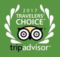 Trip Advisor Travelers Choice 2017