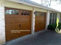 Carriage Style Garage Doors in Austin TX | Cedar Park ...