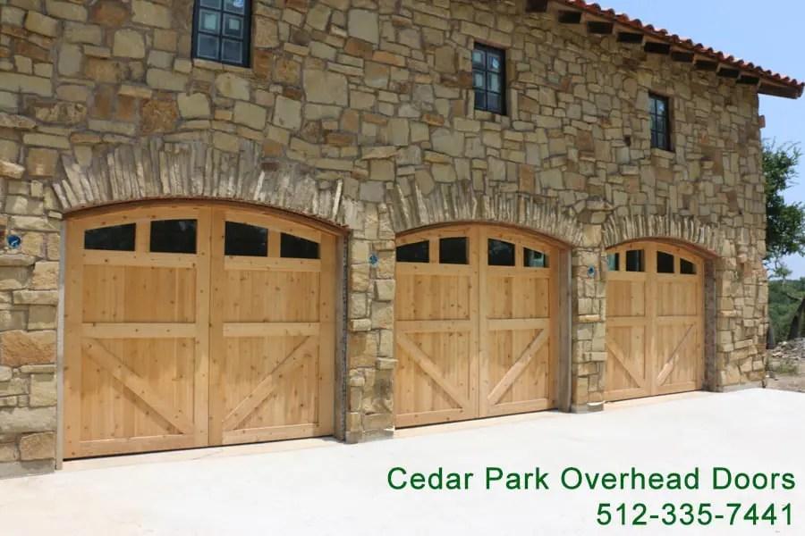 Custom Wood Garage Doors in Austin TX