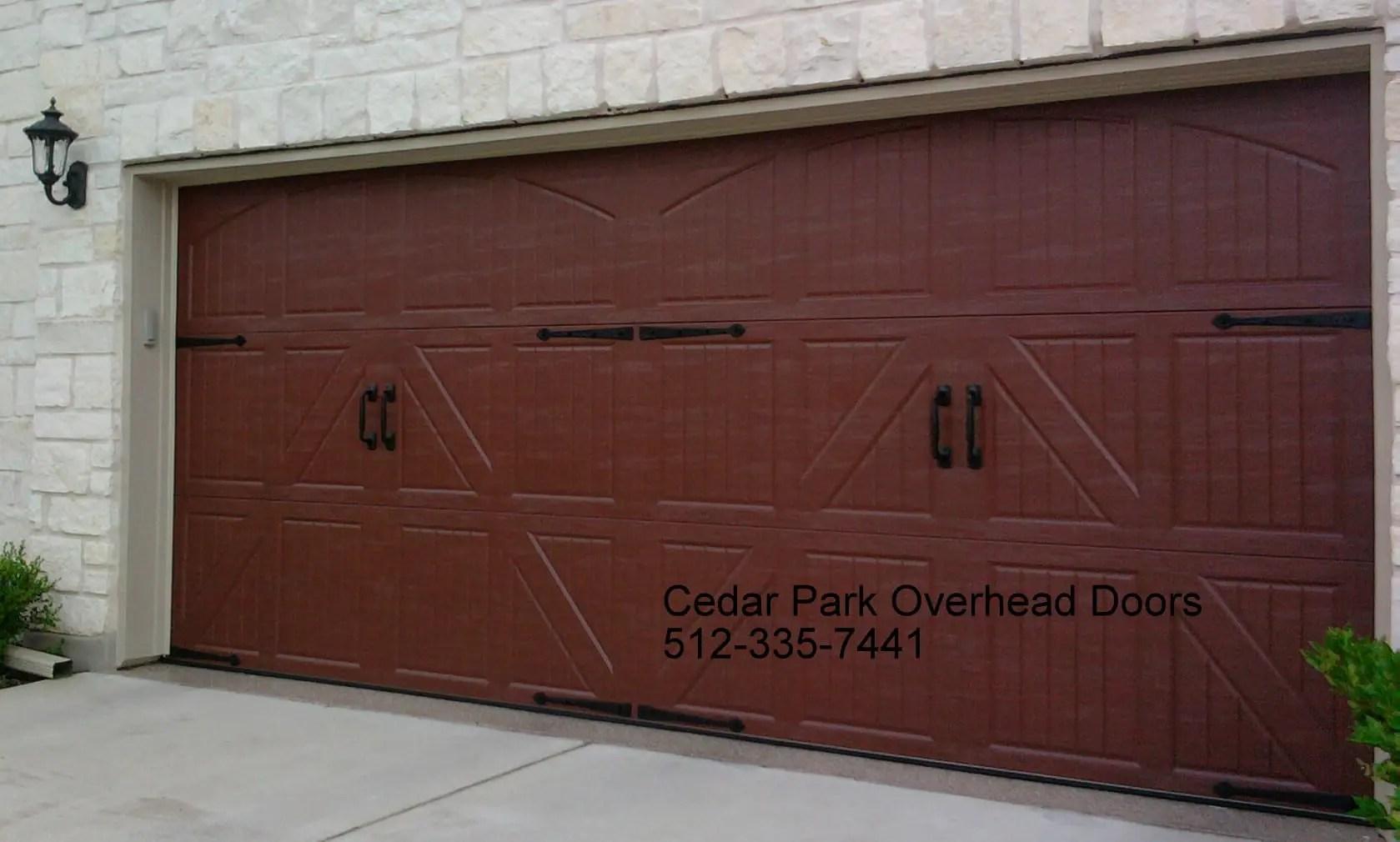 Carriage Style Garage Doors in Austin TX