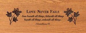 D3 Love Never Fails