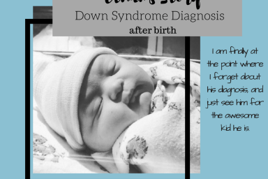 Down Syndrome diagnosis after birth