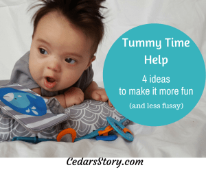 tummy time 4 ideas to make it more fun