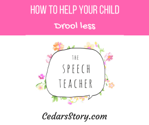 How to Help Your Child Drool Less
