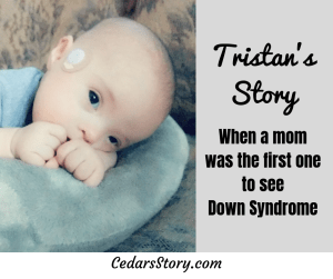 mom recognized down syndrome first