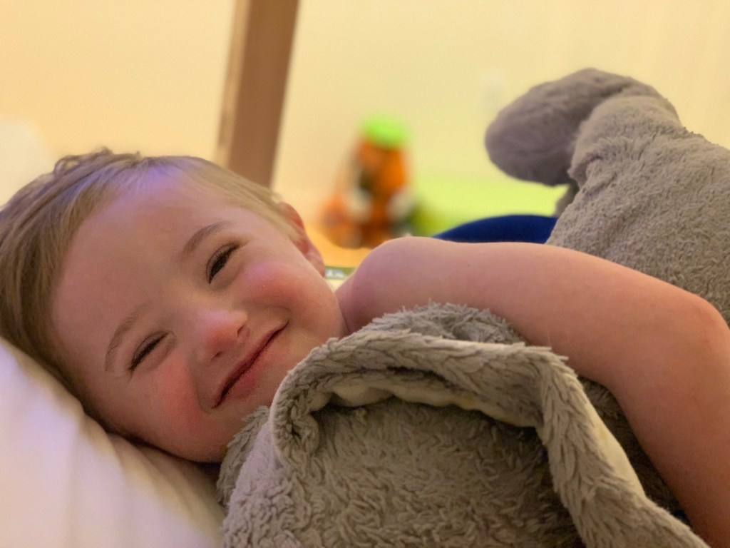 5 year old with down syndrome who beat coronavirus