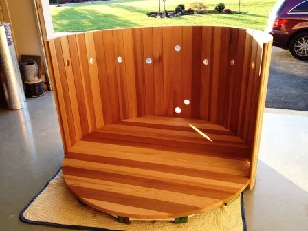 Pdf plans wood hot tub kits download diy coffee table for Wood coffee table kits