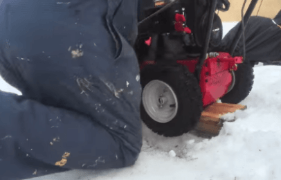 Once there is no leaks, re-install the tire back on your equipment.