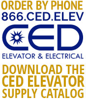 Elevator Parts. Elevator Products. CED Elevator & Electrical