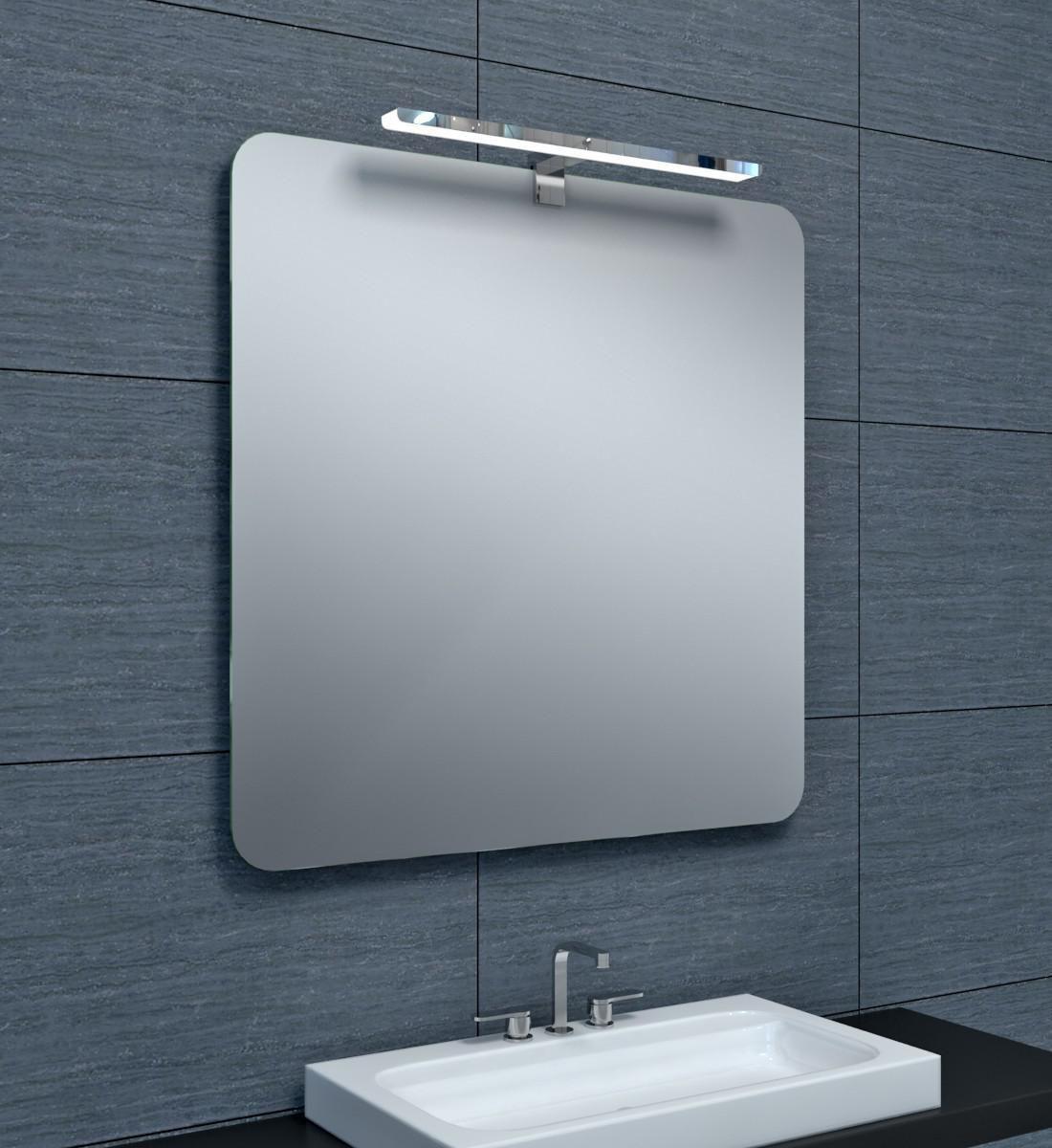 ALTERNA Miroir Milan 80 X Hauteur 80 Cm Cedeo