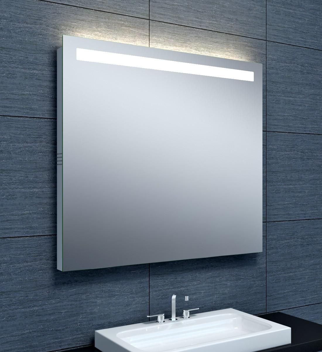 Alterna Miroir Musik Eclairage Led Bluetooth 90 X Hauteur 80 Cm Cedeo