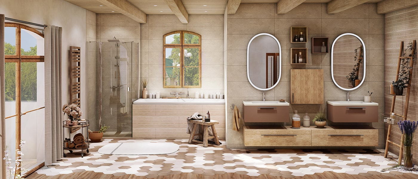 couleur de sa salle de bain cedeo