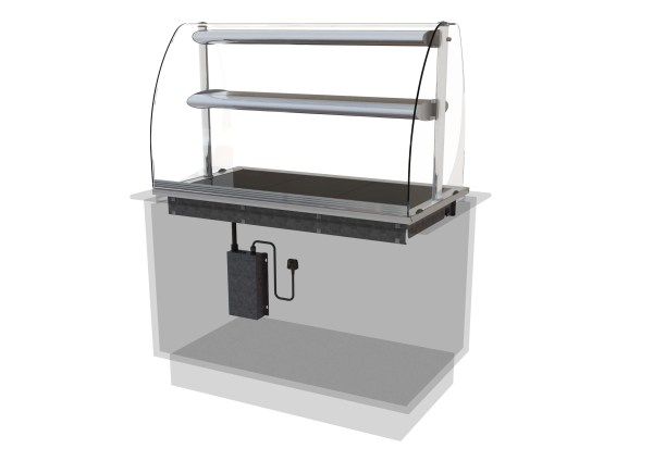 Designline Ceran Glass Hotplate Heated Mid Shelf Ced
