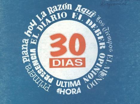 30 Días. Correo hemerográfico (Febrero 1992)