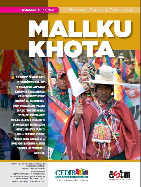 Mallku Khota: Dossier de prensa