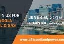 Top Execs of Oil and Gas Majors Lead Powerful Lineup for Angola Oil & Gas 2019